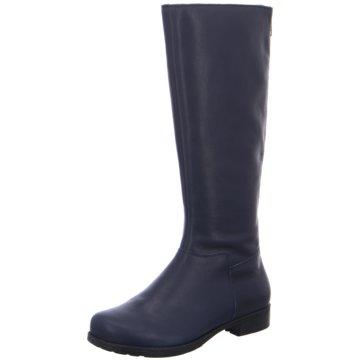 Think Klassischer Stiefel blau