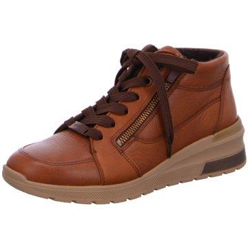 ara Sneaker Wedges braun