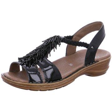 ara Komfort SandaleHawaii schwarz