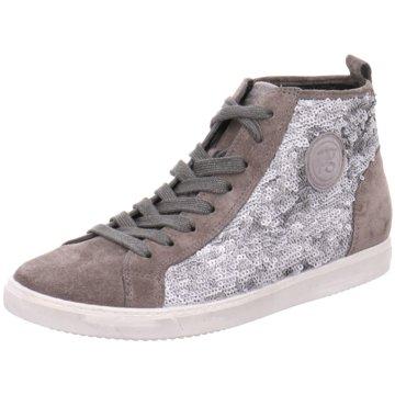 Paul Green Sneaker High silber