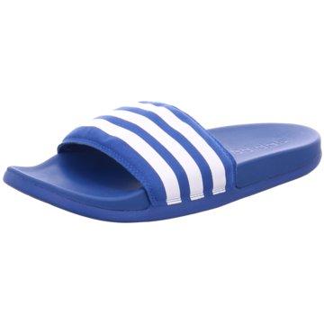 adidas Badelatscheadilette CF ultra blau