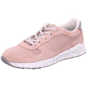 Vado Sportlicher Schnürschuh rosa