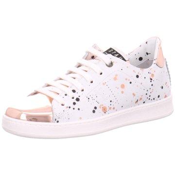 Stau Sneaker Low weiß