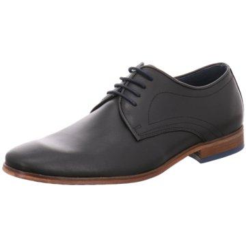 Walkys Eleganter Schnürschuh schwarz