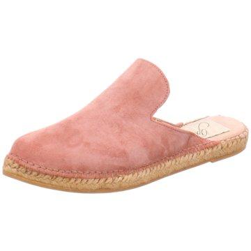 Gaimo Espadrilles Pantoletten rosa