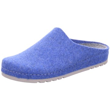 Beck Hausschuh blau