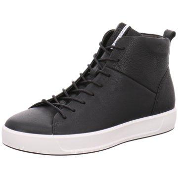 Ecco Sneaker HighSoft 8 Mens schwarz