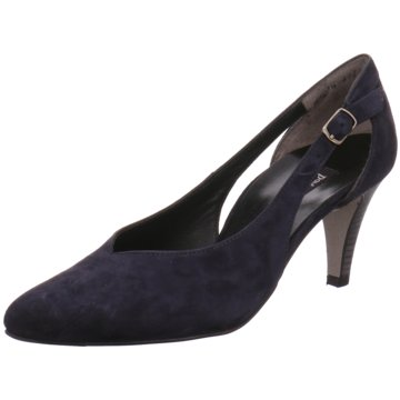 Paul Green Riemchenpumps blau