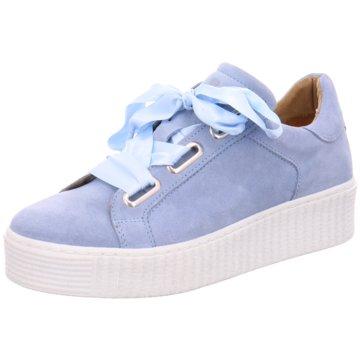 Joseli Plateau Sneaker blau