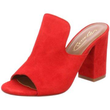 Bianca Di Klassische Pantolette rot
