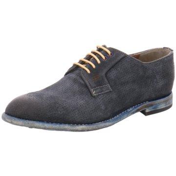 Gordon & Bros Klassischer Schnürschuh blau