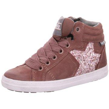 Pölking Sneaker High rosa