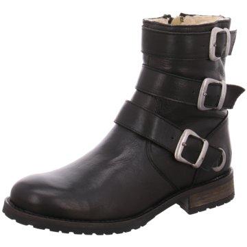 Online Shoes Biker Boot schwarz