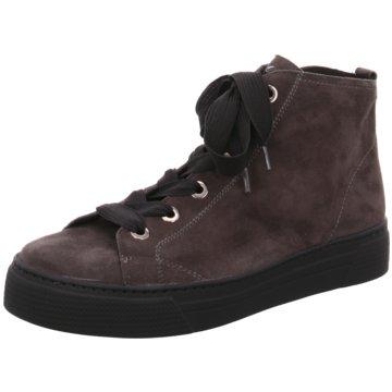 Semler Sneaker High braun