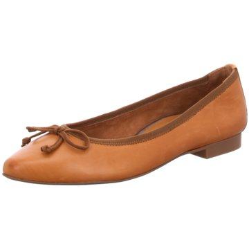 Paul Green Klassischer Ballerina braun