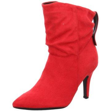 Bullboxer Klassische Stiefelette rot