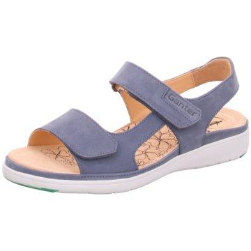 Ganter Komfort SandaleGina blau
