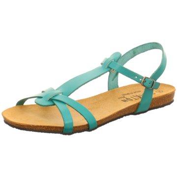 Plakton Komfort Sandale türkis