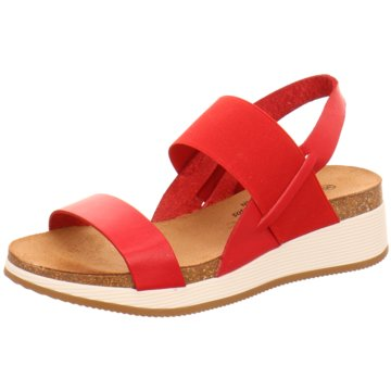 Plakton Komfort Sandale rot