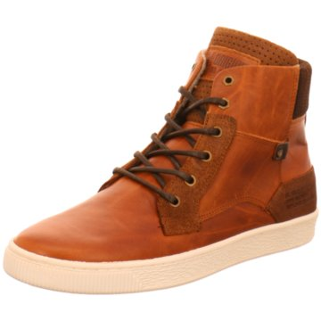 GUESS Sneakers Braun Leder Herren Schuhe High Quality