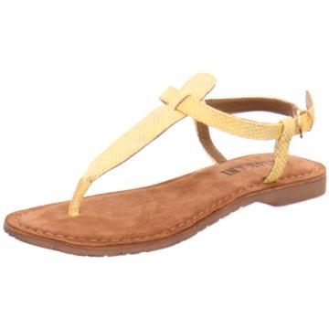 Lazamani Sandalette gelb