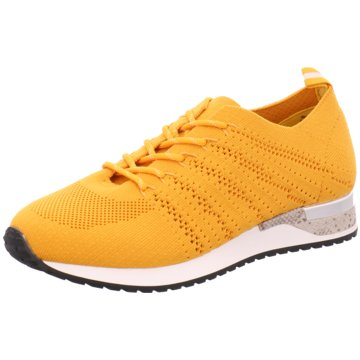 Pep Step Sportlicher Schnürschuh gelb