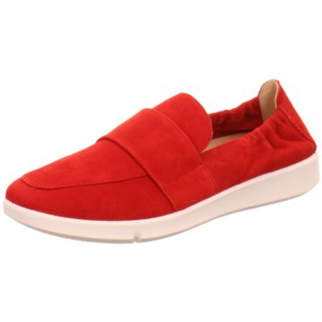 Legero Klassischer Slipper rot