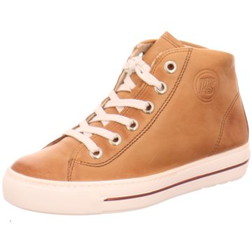 Paul Green Sneaker High4735 braun