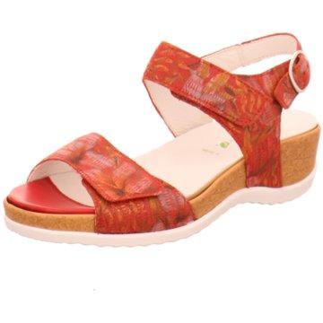 Waldläufer Komfort Sandale rot