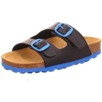Brütting Offene Schuhe blau