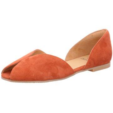 KMB Eleganter Ballerina orange