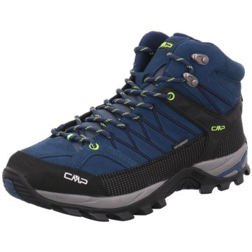 CMP Outdoor SchuhRIGEL MID TREKKING SHOE WP - 3Q12947 blau