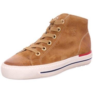 Paul Green Sneaker High4007 braun