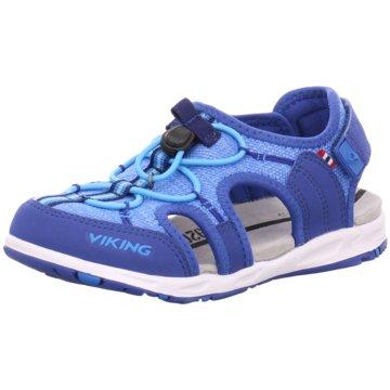 Viking Offene Schuhe blau