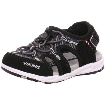 Viking Offene Schuhe schwarz