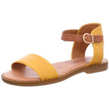 Remonte Bequeme Sandalen gelb