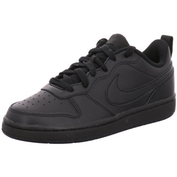 Nike Sneaker LowCOURT BOROUGH LOW 2 - BQ5448-001 schwarz