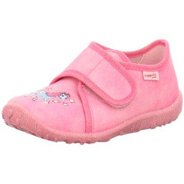 Superfit Kleinkinder MädchenHausschuh Textil \ S pink