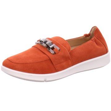 Legero Klassischer Slipper orange