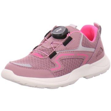 Superfit Sportlicher SchnürschuhSchuh Textil \ RUSH rosa