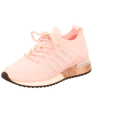 La Strada Sportlicher Schnürschuh rosa