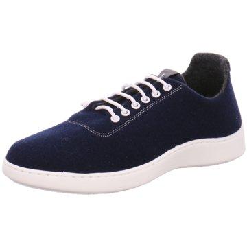 Baabuk Sneaker Low blau