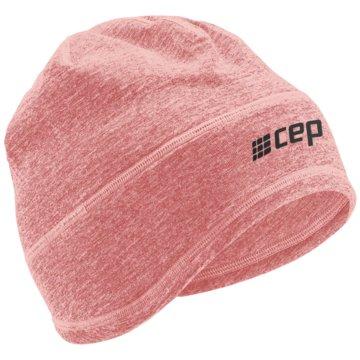 CEP Mützen WINTER RUN BEANIE - W0MBR rosa