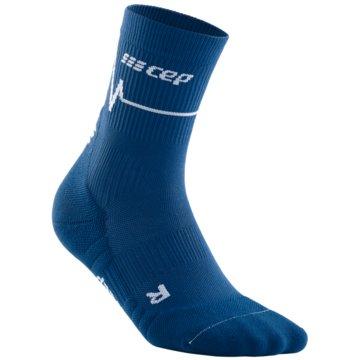 CEP Hohe Socken HEARTBEAT MID-CUT SOCKS - WP2CC blau