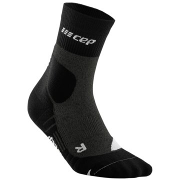 CEP Hohe SockenCE HIKING MERINO MID-CUT SOCKS - WP3C4 grau