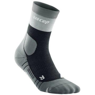 CEP Hohe Socken HIKING LIGHT MERINO MID-CUT SOCKS - WP3C5 grau