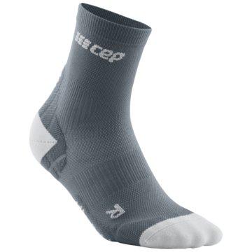 CEP Hohe Socken ULTRALIGHT SHORT SOCKS - WP5BY grau
