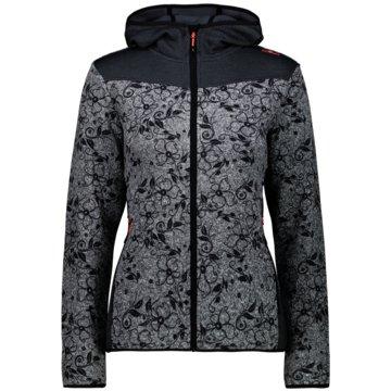 CMP SweaterWOMAN JACKET FIX HOOD - 30H2666 grau