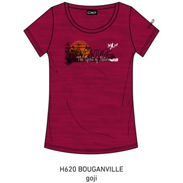 CMP T-ShirtsKID G T-SHIRT - 39T7515 rosa