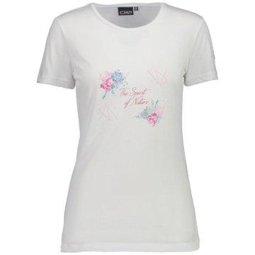 CMP T-ShirtsWOMAN T-SHIRT - 39T7536 weiß
